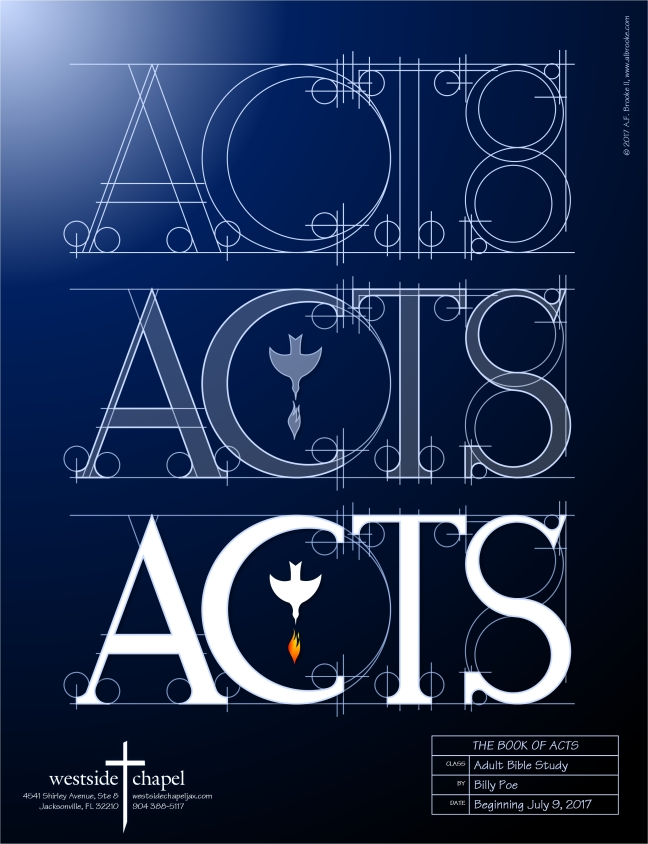 ACTS poster